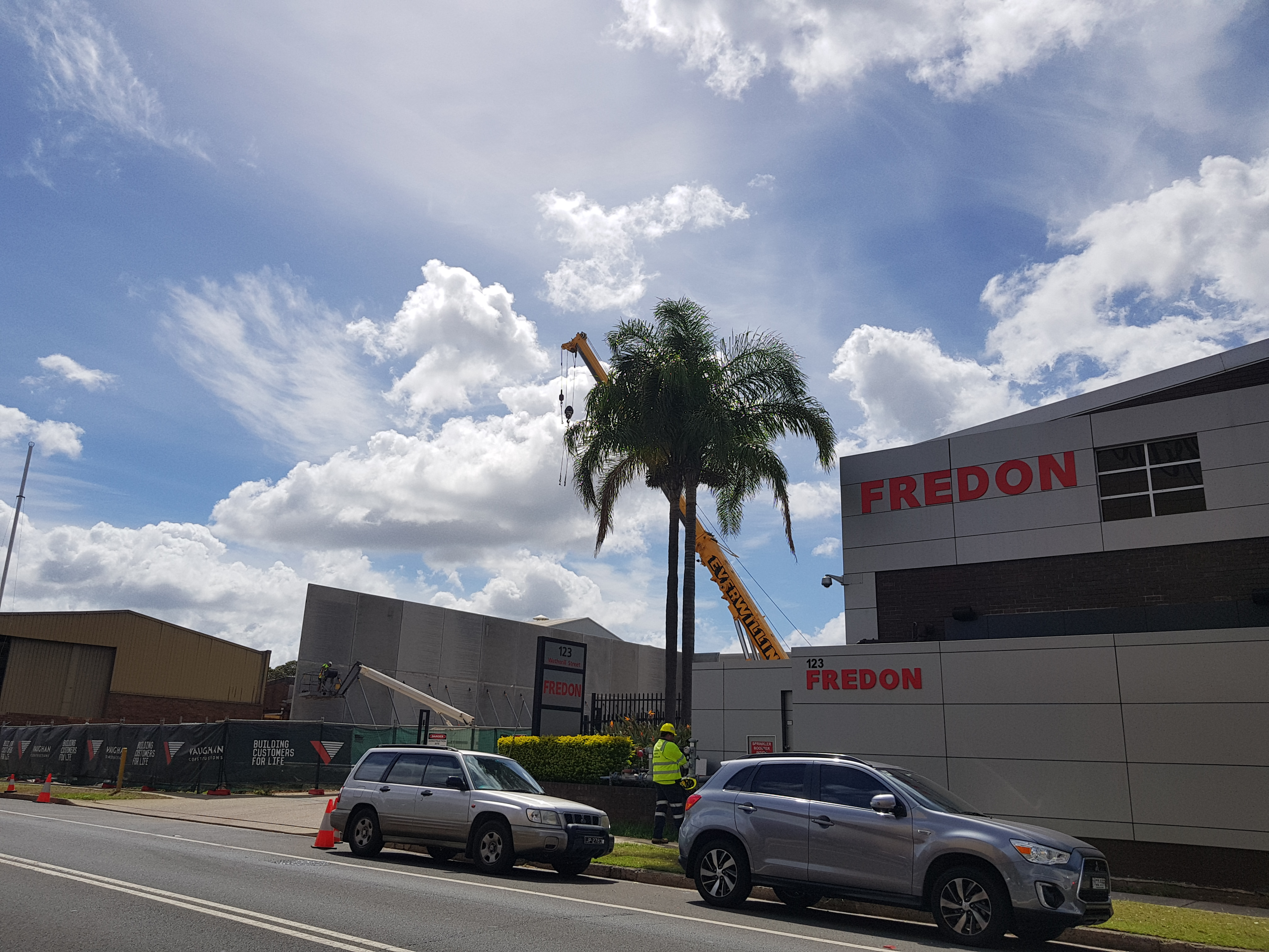 Fredon NSW Office Construction Update