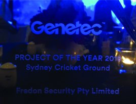 Genetec Project of the Year 2018
