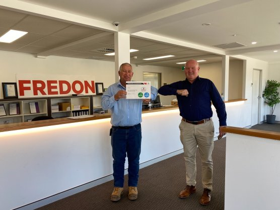 Fredon ACT receive MIC Accreditation